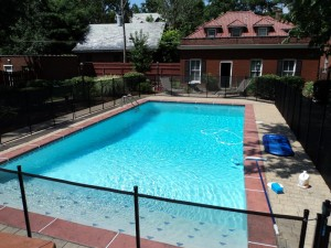 Squires Plastering pool rehab project